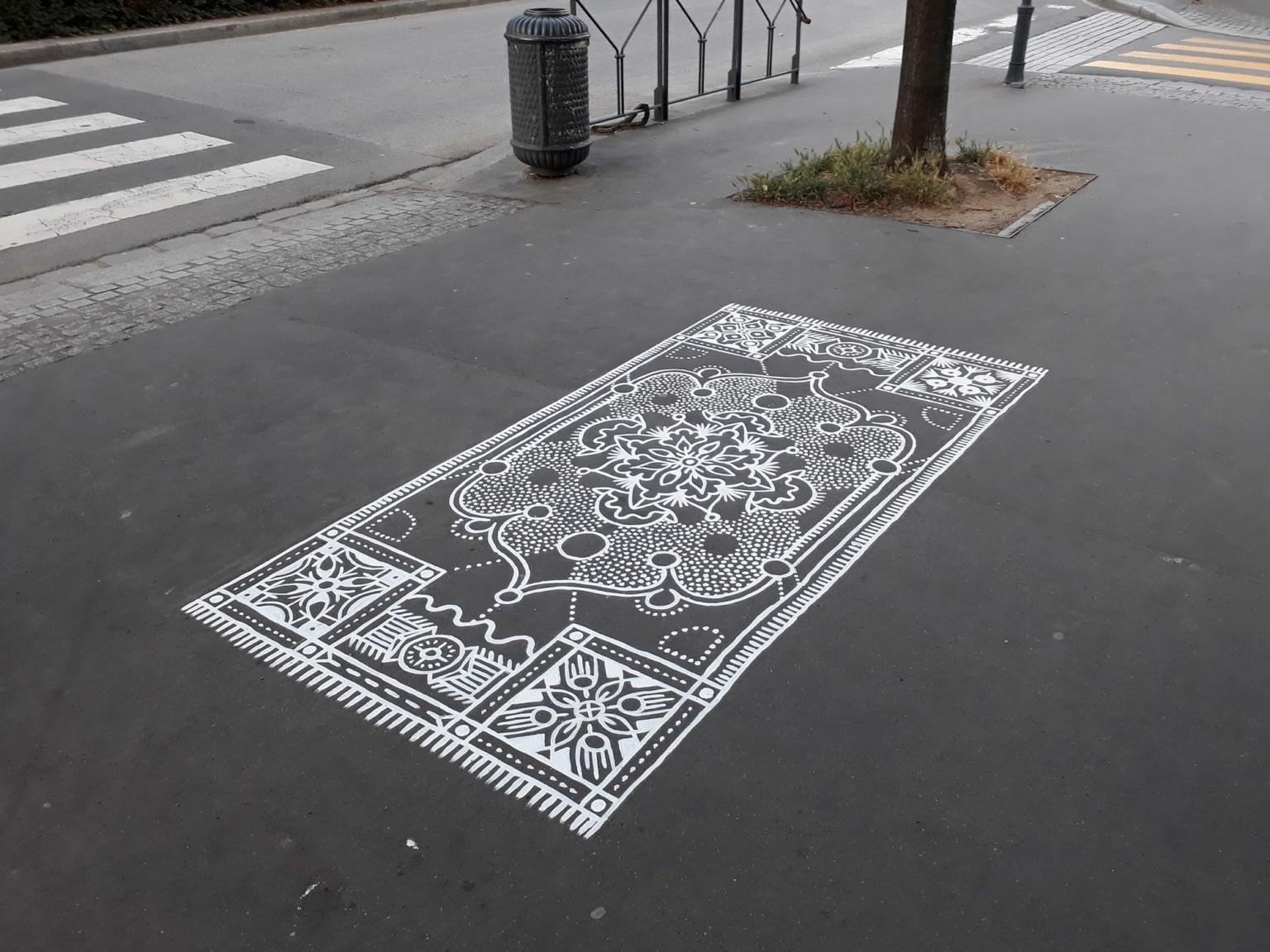 Painted Street Carpets by Arthur-Louis Ignoré
