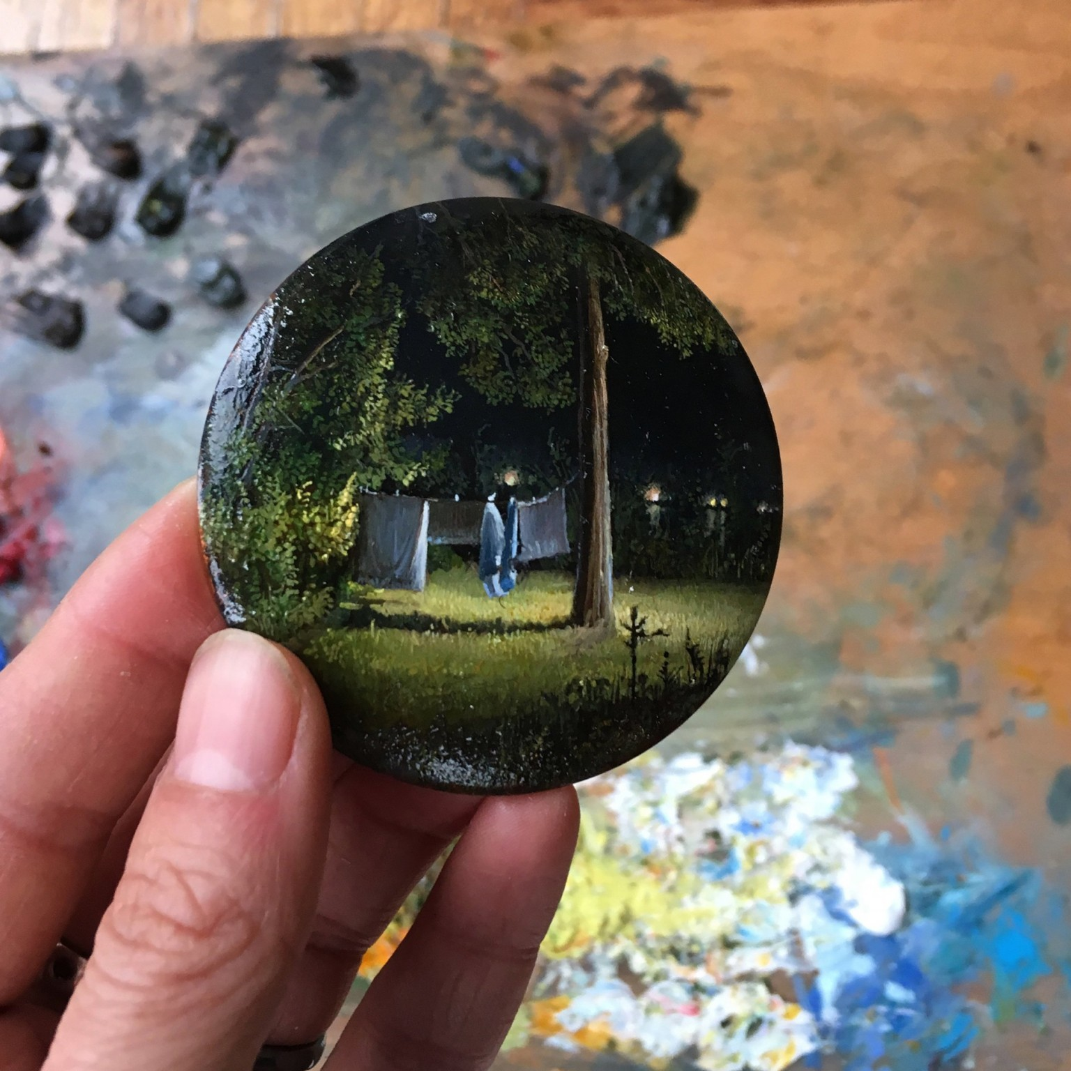 Dina Brodsky Chronicles Her Travels in Detailed Miniature Landscape Paintings
