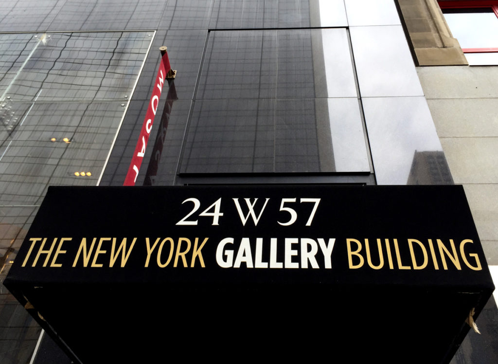 The New York Gallery Building has been the area's main hub of galleries since the 1960s
