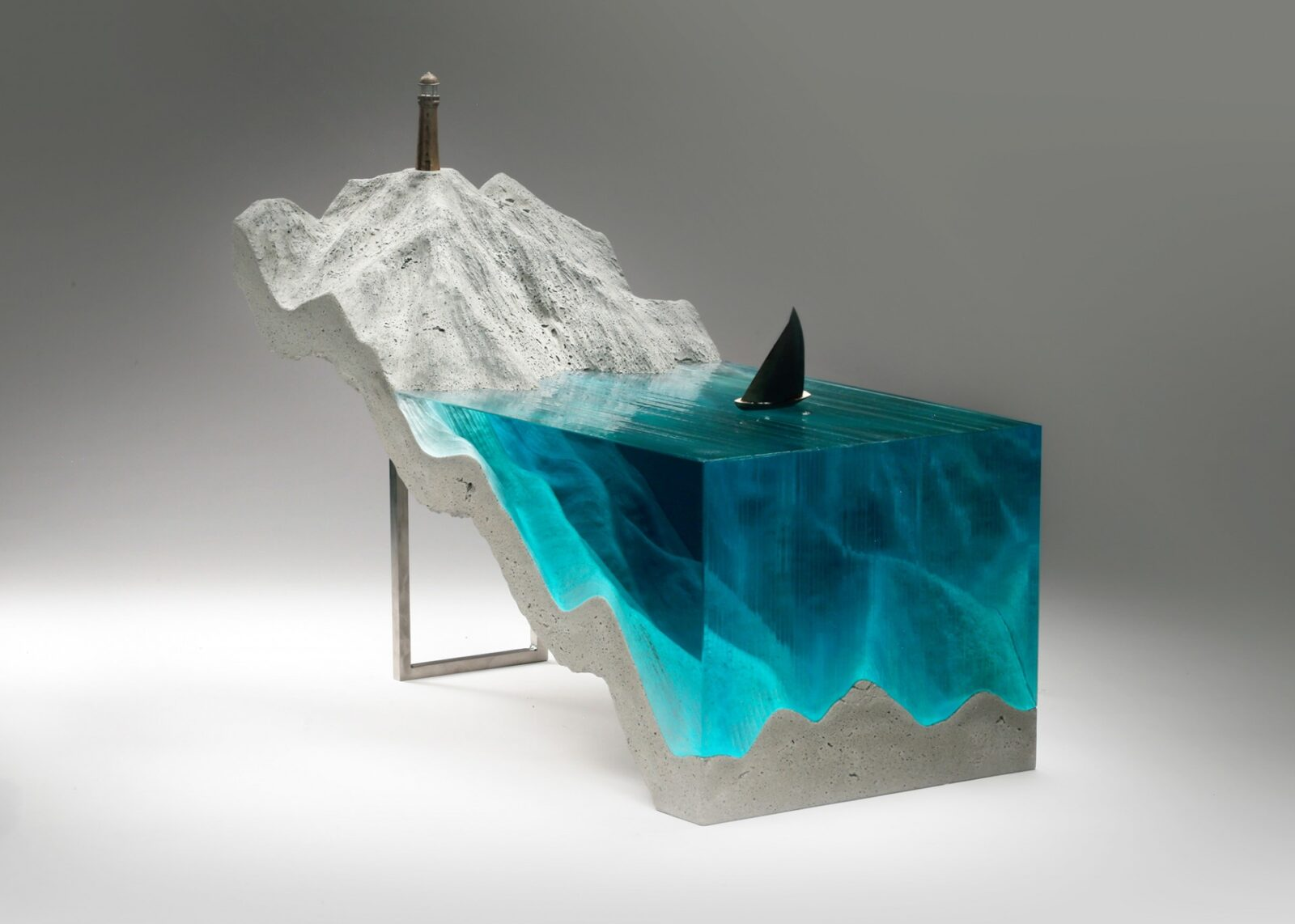 New Sculptures by Ben Young Transform Hand-Cut Glass into