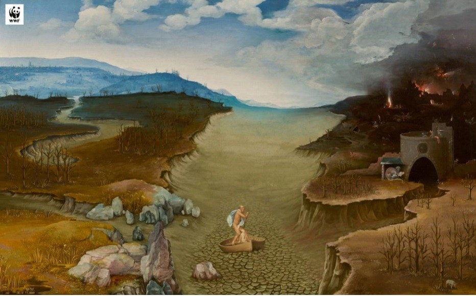 "Prado has ""updated"" 4 masterpieces to illustrate the impact of climate change"