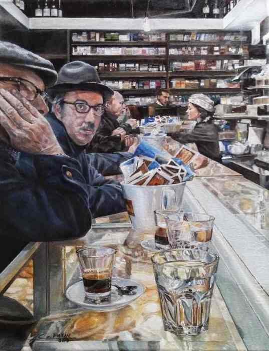 With The Eyes Closed: Realistic Pictures By French Artist Who Has Bad Eyes