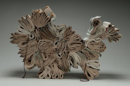 Sculptures From the Books by Jacqueline Rush Lee: For or Against?