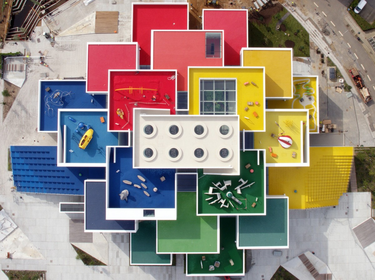 The Unusual LEGO House Was Opened in Denmark