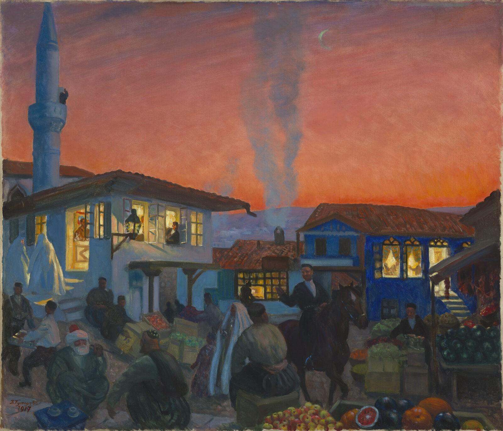 Kustodeiv and Vasnetsov Masterpieces lead MacDougall's Russian Art Auction