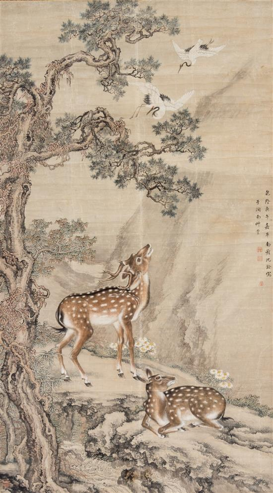 Chinese Calligraphy Scrolls Sell for $269,000 at Leslie Hindman Auctioneers' March Asian Works of Art Sale