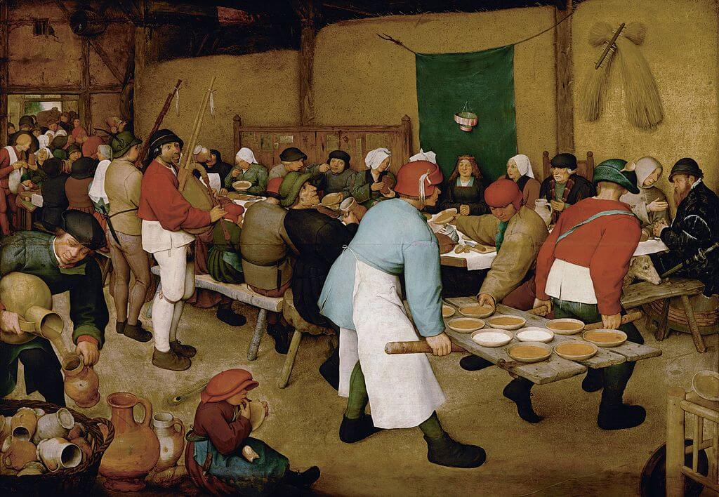 Bruegel paintings. The most famous masterpieces of the master