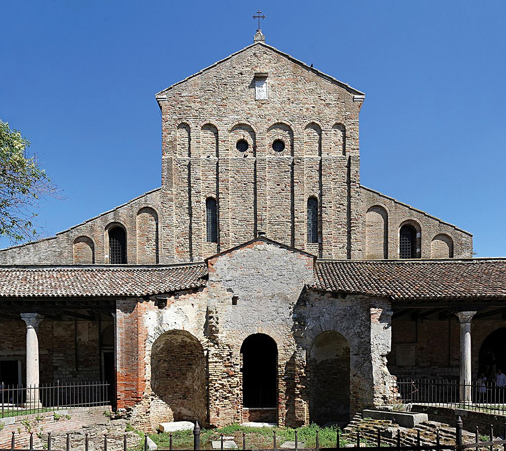 The oldest frescoes in Venice and the Venetian Lagoon are found on the island of Torcello