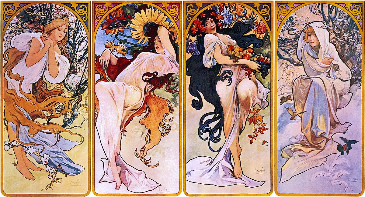 10 masterpieces by Alphonse Mucha