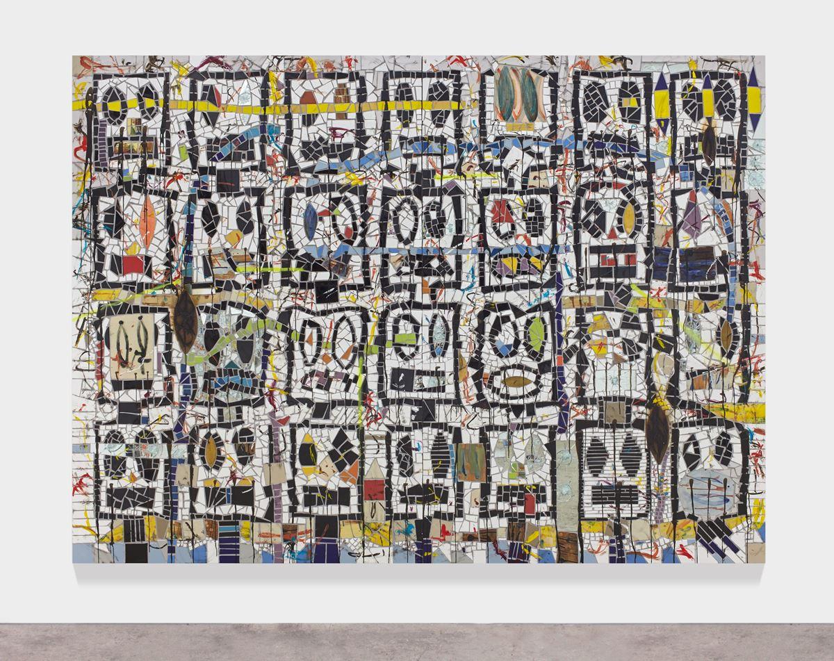 The Broken Five by Rashid Johnson in Metropolitan Museum of Art