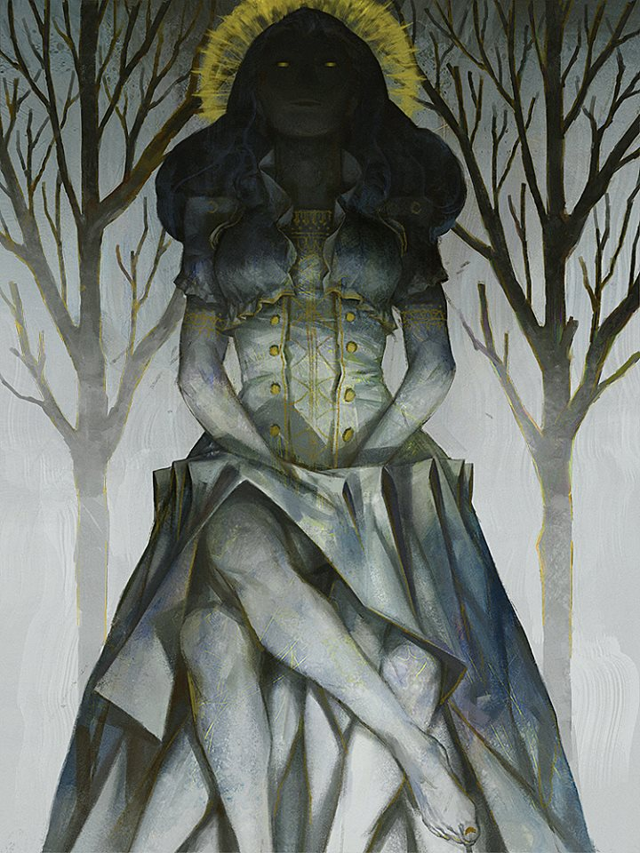Fantasy and Surrealism in Beautiful Female Portraits of Zhang Jingna
