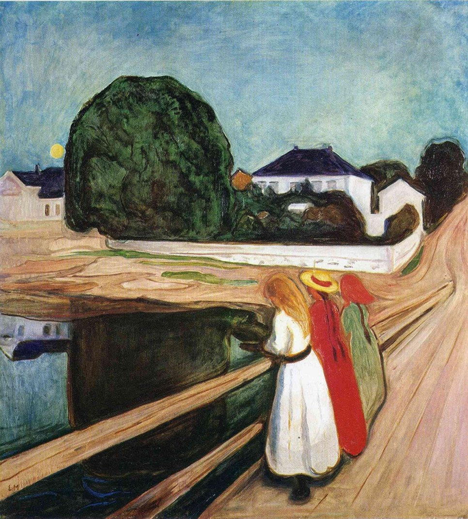 The Fear Of Death, The Thirst For Life And The Fatal Love Of Edvard Munch