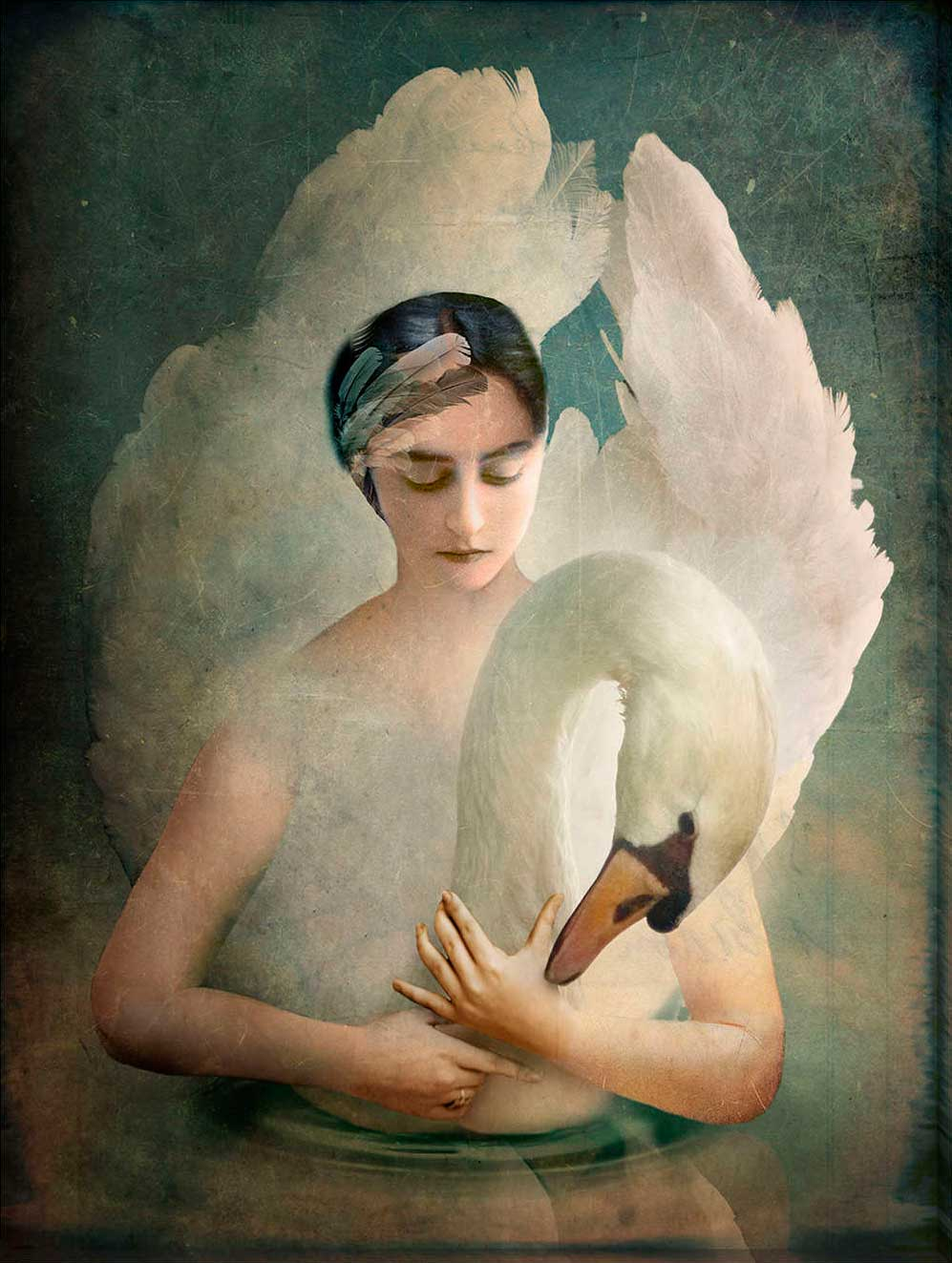 Digital Surrealism by Catrin Welz-Stein: touching and exquisitely gloomy