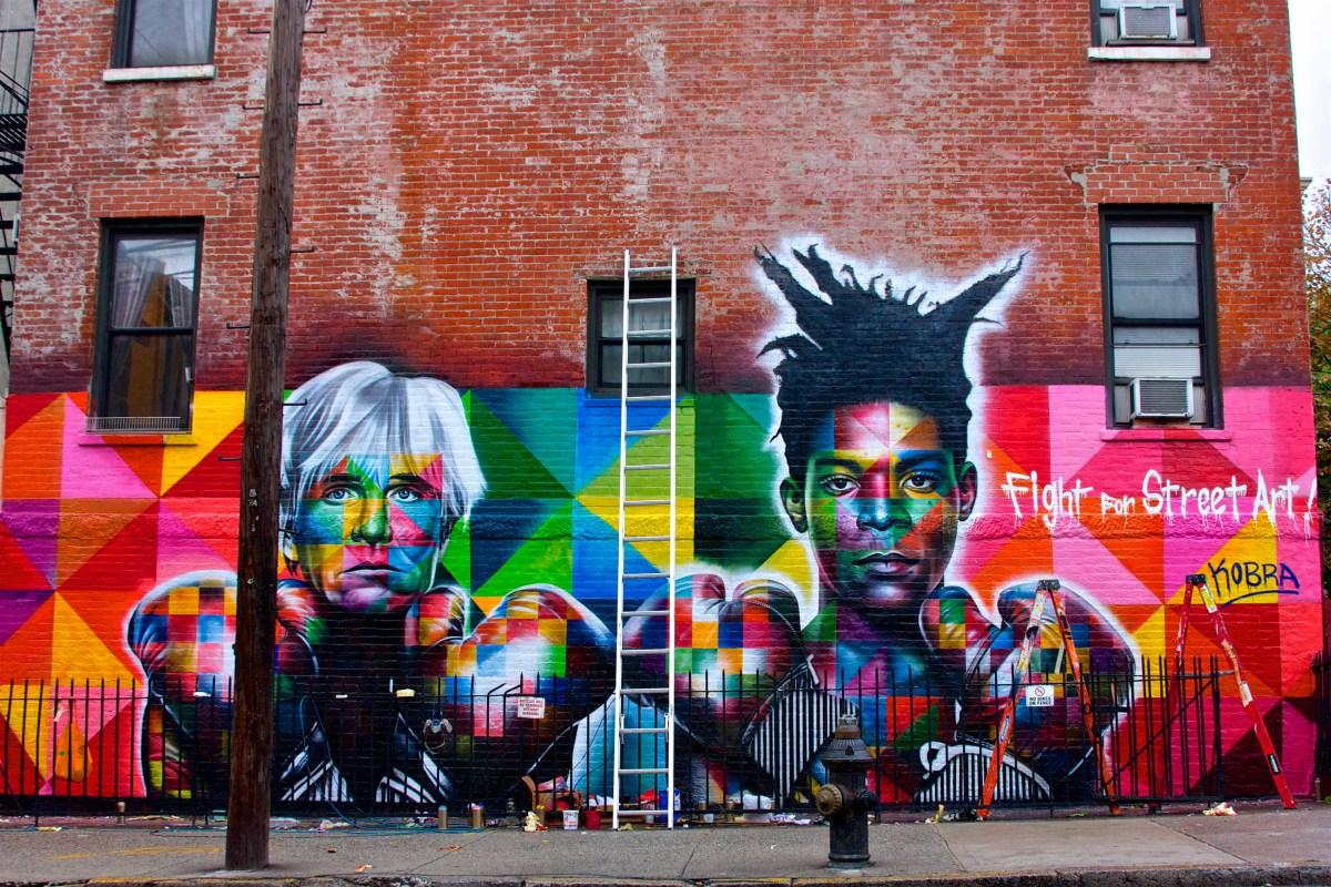 NYC's new Black Lives Matter Mural