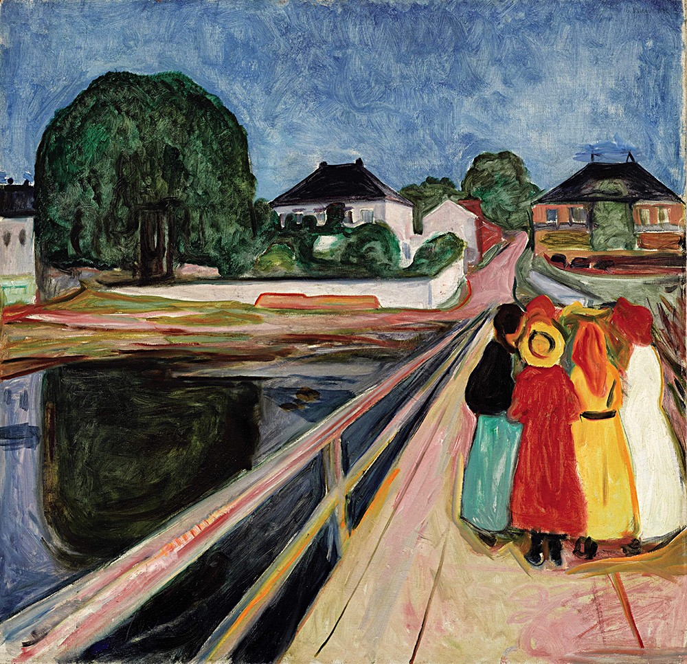 Munch Museum shows the artist's landscape exhibition
