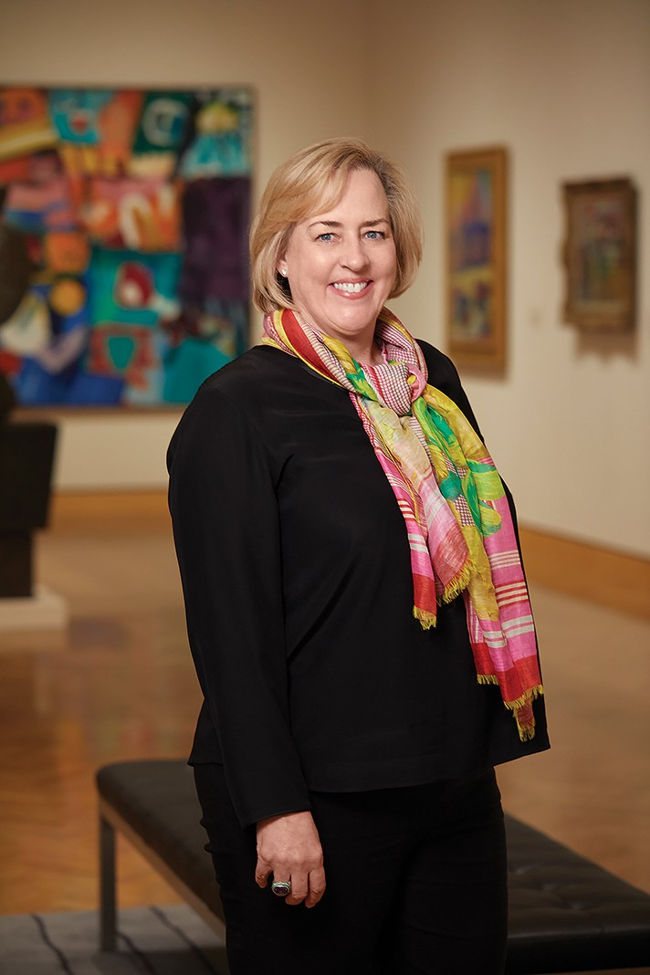 Katherine Crawford Luber - the new president and director of Minneapolis Institute of Art