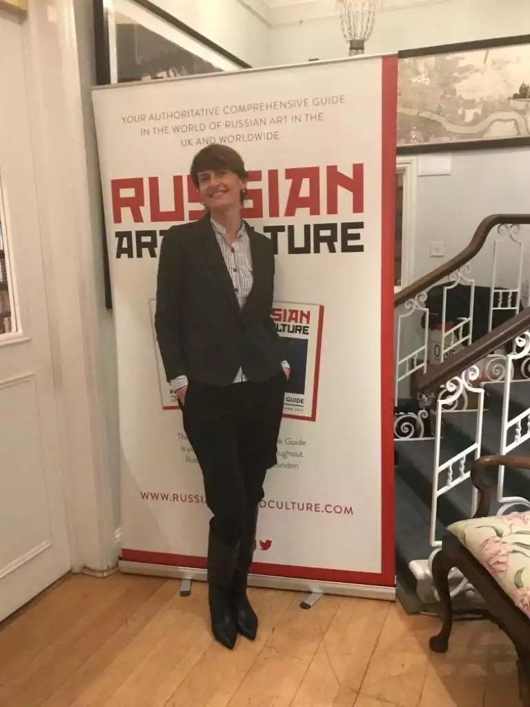 Exhibition of Ukrainian artists in London, Mayfair