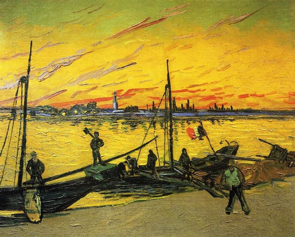 Seller of $92m Botticelli also collected Van Gogh's art works