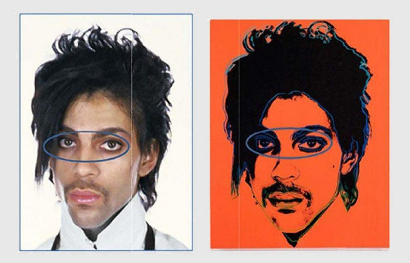 The court struck the Warhol Foundation in the appeal concerning fair use of prince portraits
