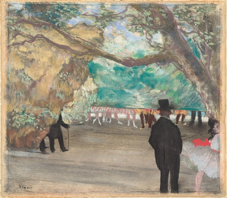National Gallery showcased Degas paintings about opera