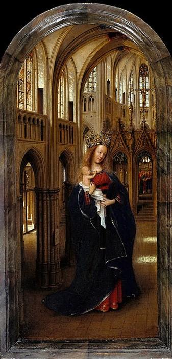 Jan van Eyck 'The Madonna in the Church' (1438—1440)
