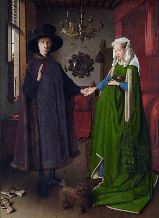 Jan Van Eyck. 'TheArnolfini Portrait'