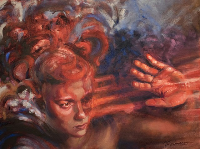 New paintings at Fontbonne University Fine Art Gallery