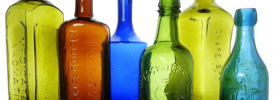 Sale of the Don Dwyer Collection of Bitters and Soda Bottles at American Bottle Auctions