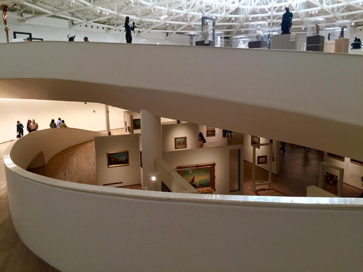 Modern Galleries and Art Museums