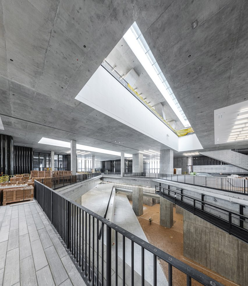 Hong Kong's M+ museum building is finished and will open in 2021