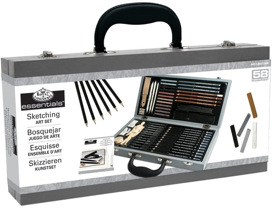 The Best Charcoal Drawing Sets