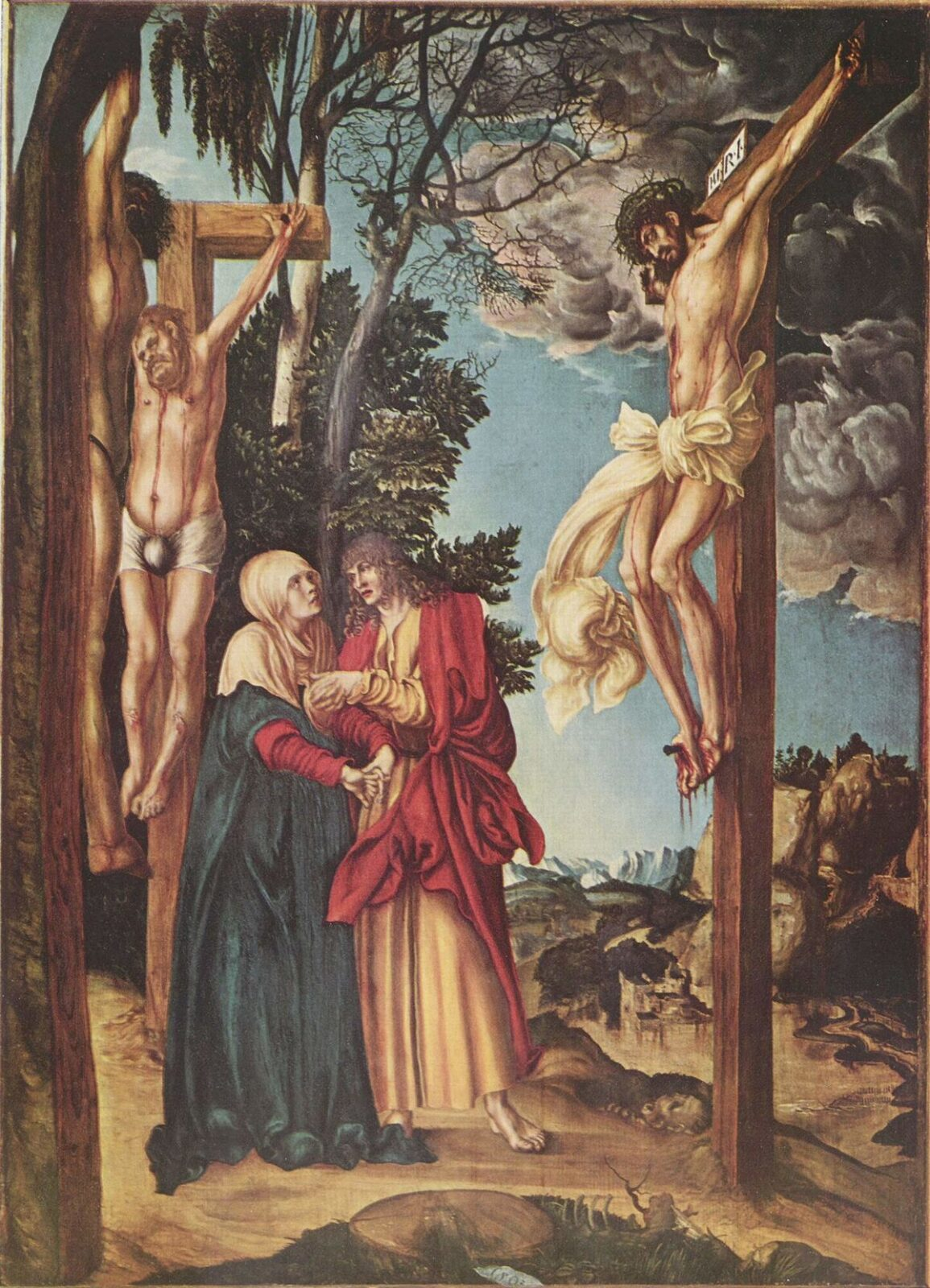 Cranach's painting sold under duress during World War II will be auctioned as part of a court settlement
