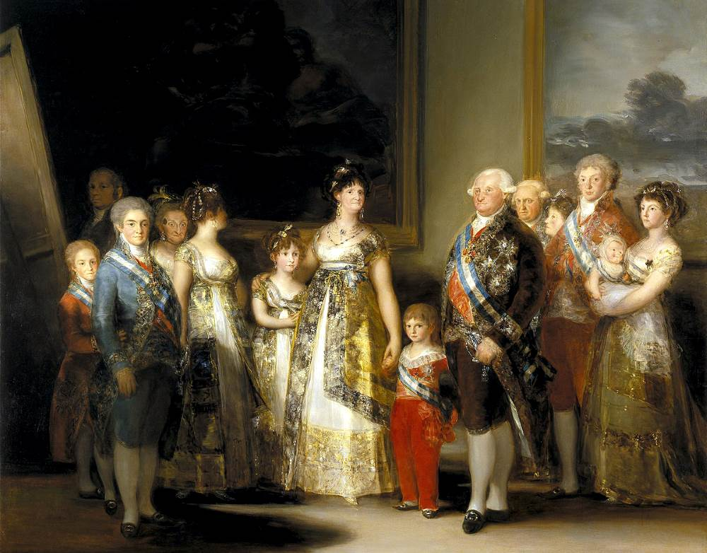 Goya's early paintings were bought by the Prado Museum