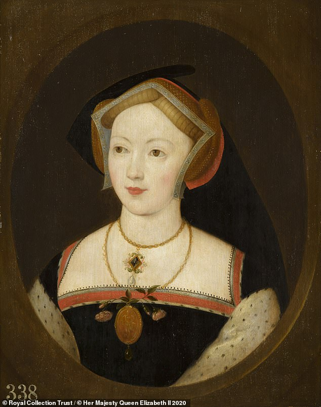 The mysterious woman on the Royal Collection portrait is Mary Boleyn