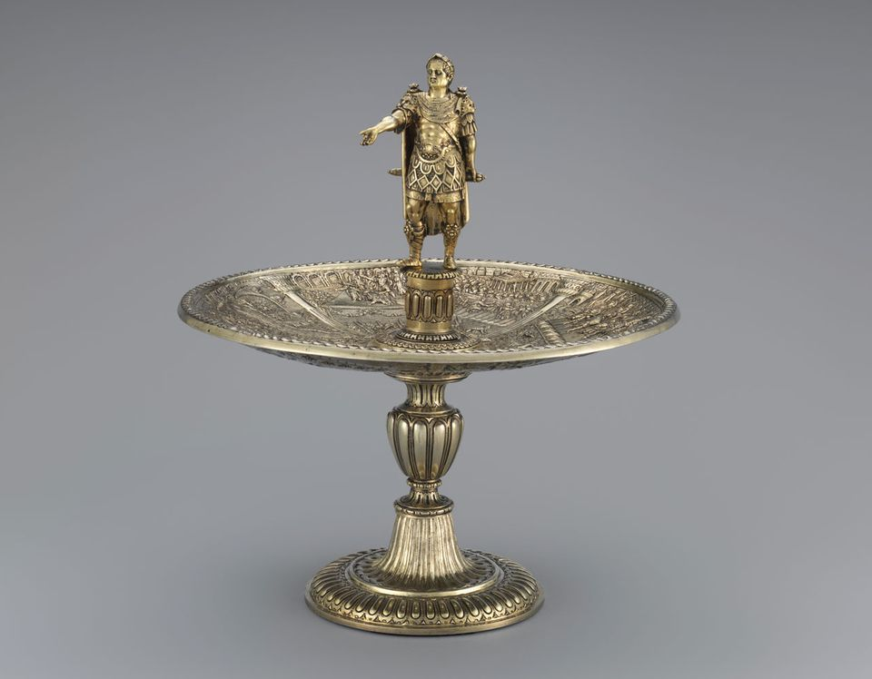Metropolitan museum of art reassembles 16th century silver for Metropolitan museum of art exhibitions