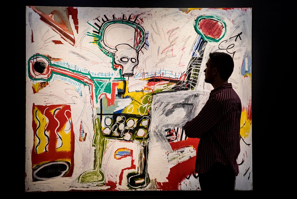 Large-scale Exhibition of Jean Michel Basquiat's Work Opens at Barbican Art Gallery