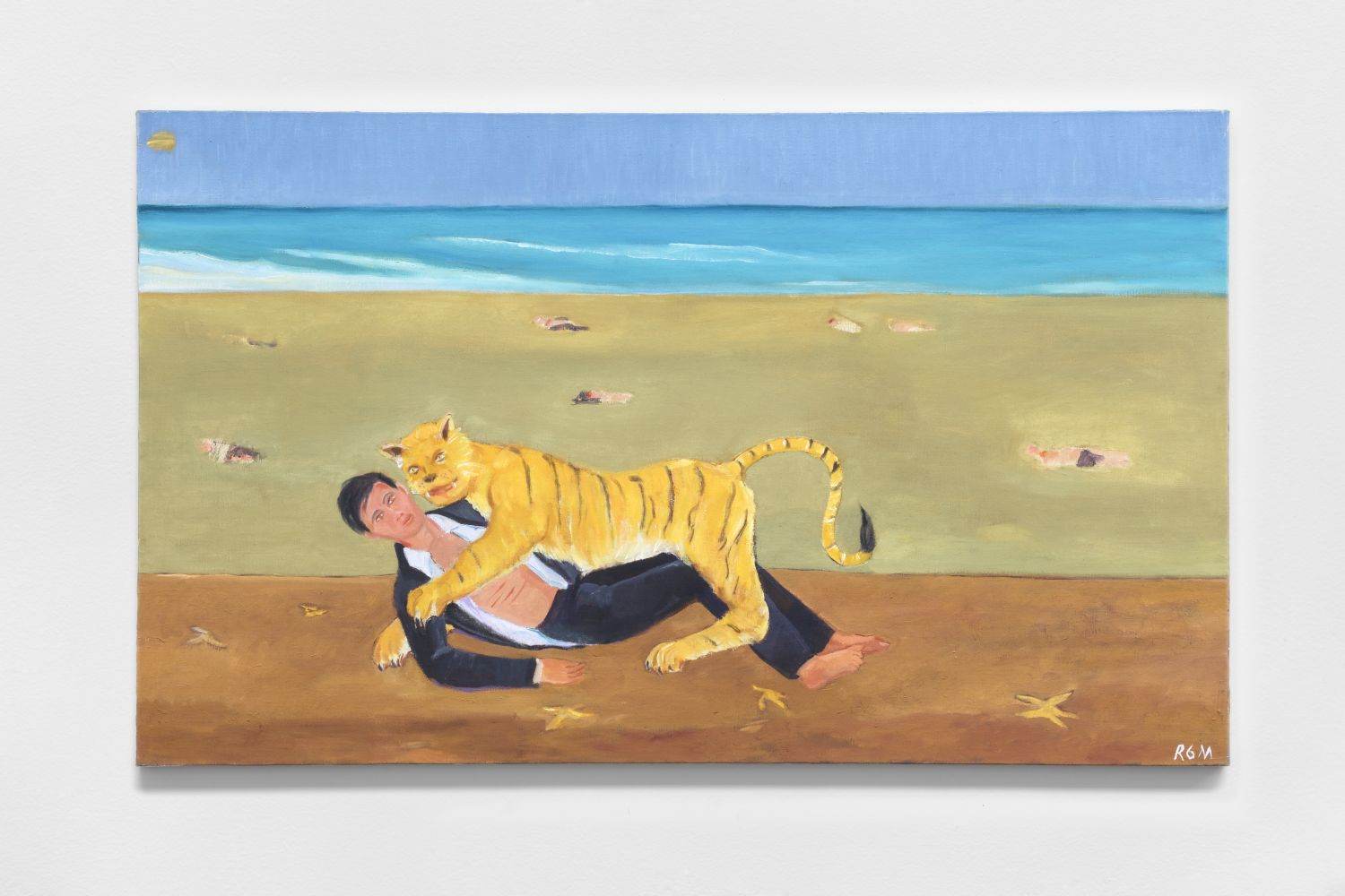 Kurimanzutto will be debuting new paintings by Roberto Gil de Montes at Frieze