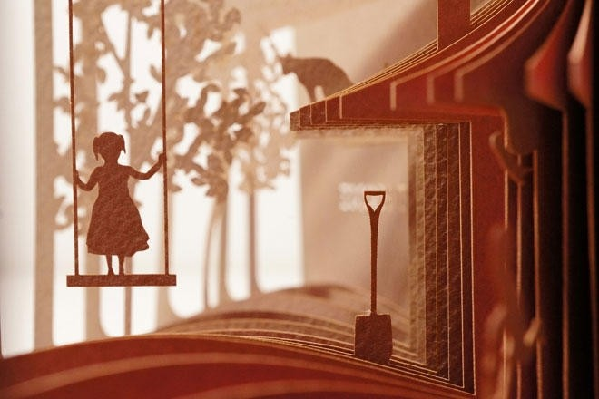 Unusual Diorama Books by Yusuke Oono