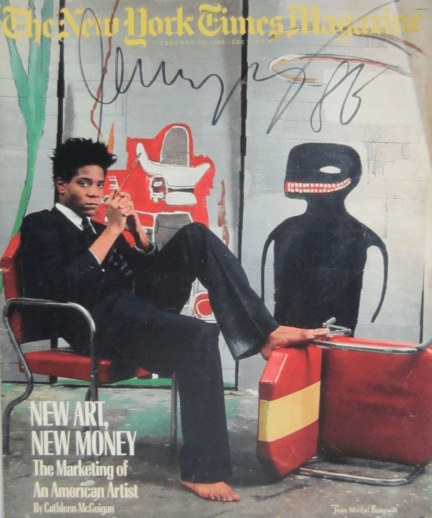 The leading lot Jean-Michel Basquiat's Continues Market Reign at Christie's $204 M. Hong Kong Evening Sale