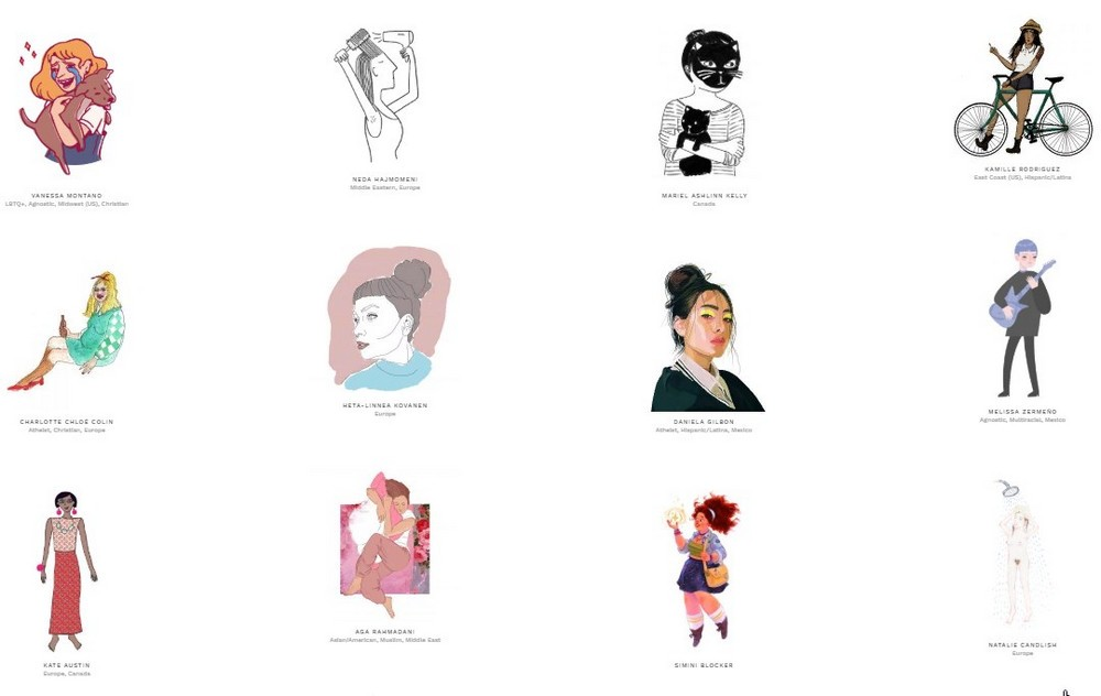 Women who draw: online catalog of 5000 illustrators from around the world