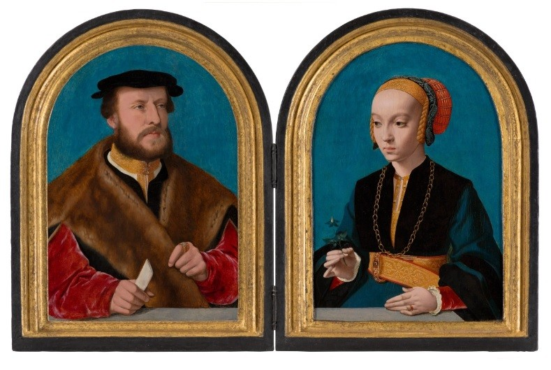 A couple of wedding portraits were reunited in Mauritshuis 125 years later