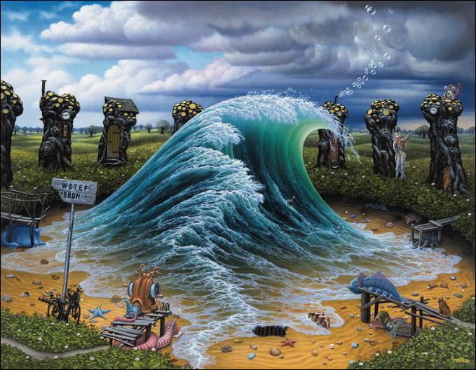 The Amazing Worlds of The Artist Jacek Yerka