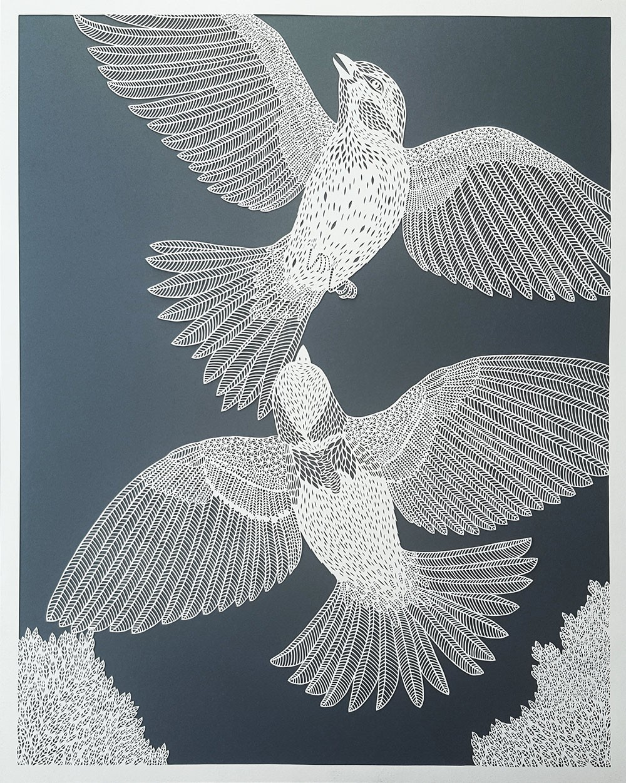 Paper Artworks by Pippa Dyrlaga