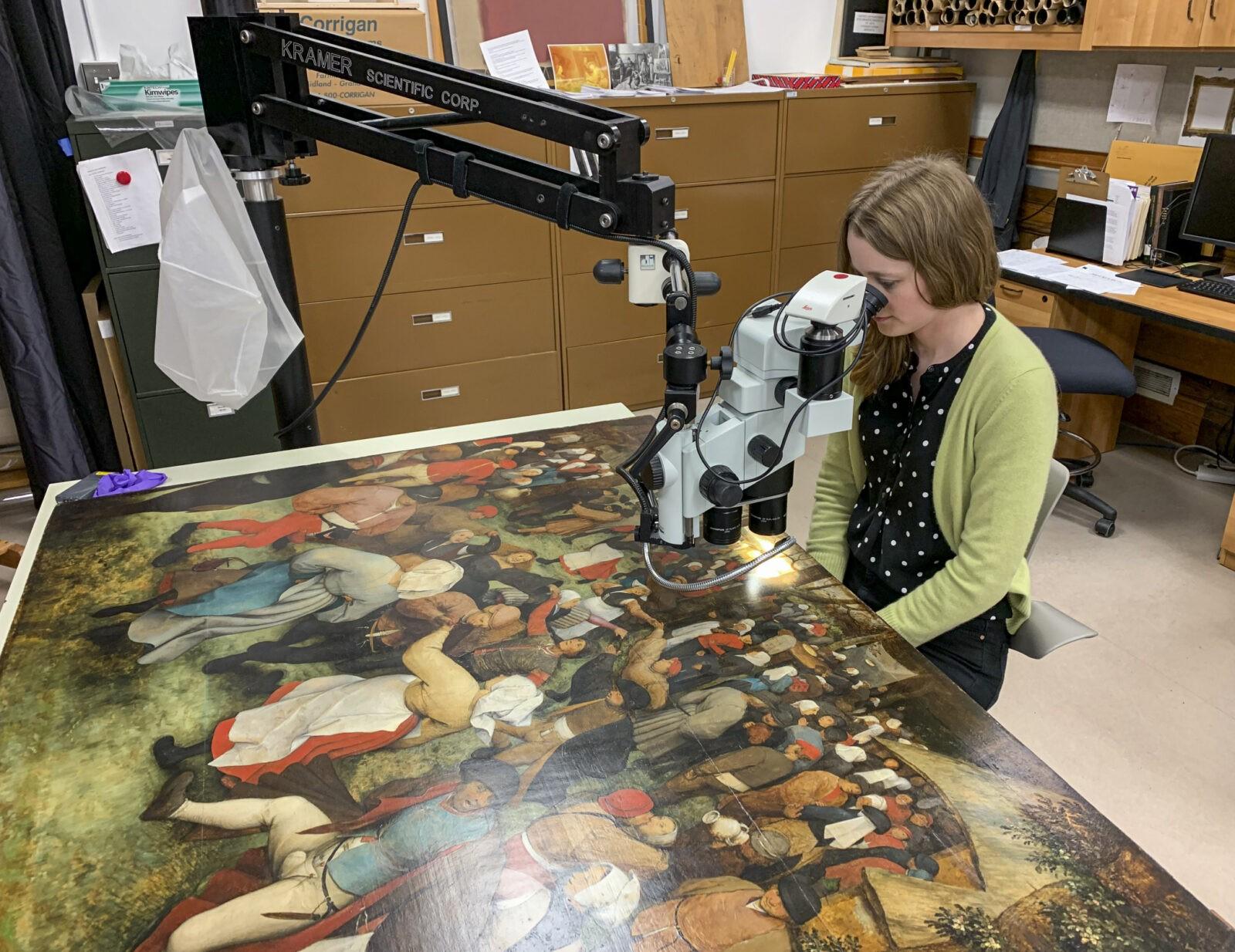 The secrets of Bruegel's ''Wedding Dance'' reveals an exhibition in Detroit