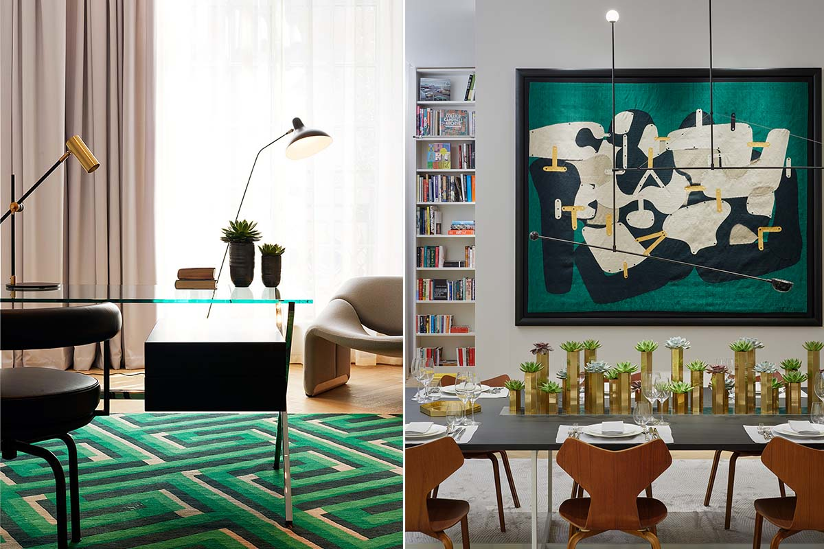 Artworks in Modern Apartment