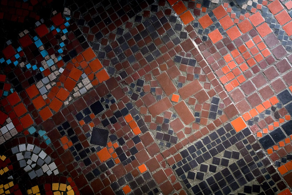 In the German Art Center was found Swastika on the floor