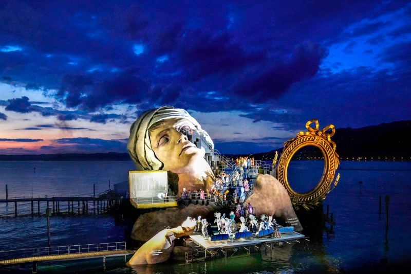 The theaters that have given up the usual stage: Opera festival on the floating stage in Bregenz