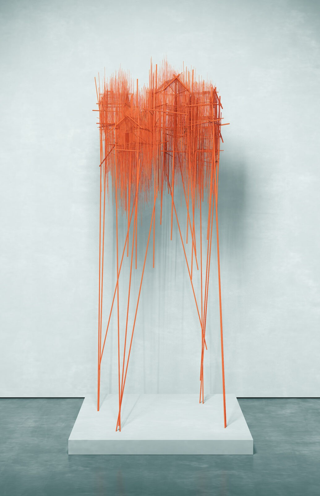Endless history. The steel sculptures by David Moreno