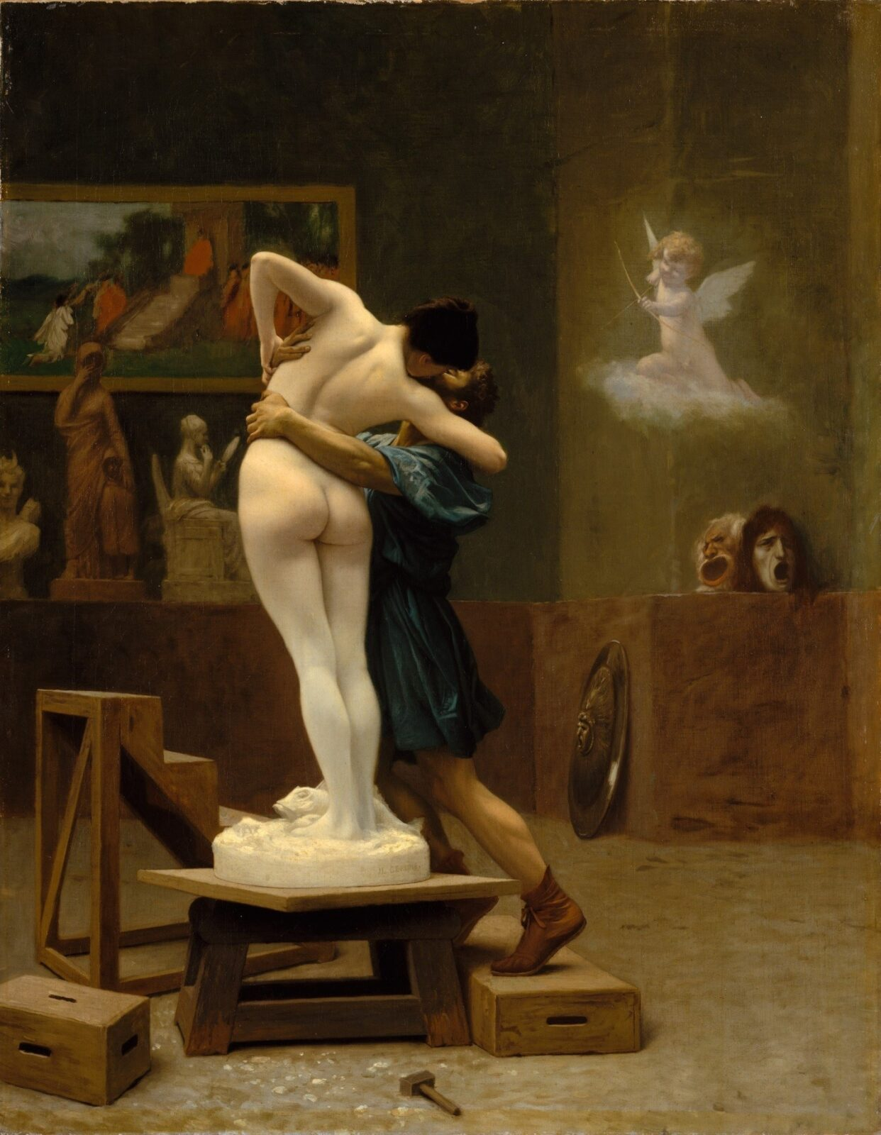 Love through the artists` eyes: 8 kisses in art