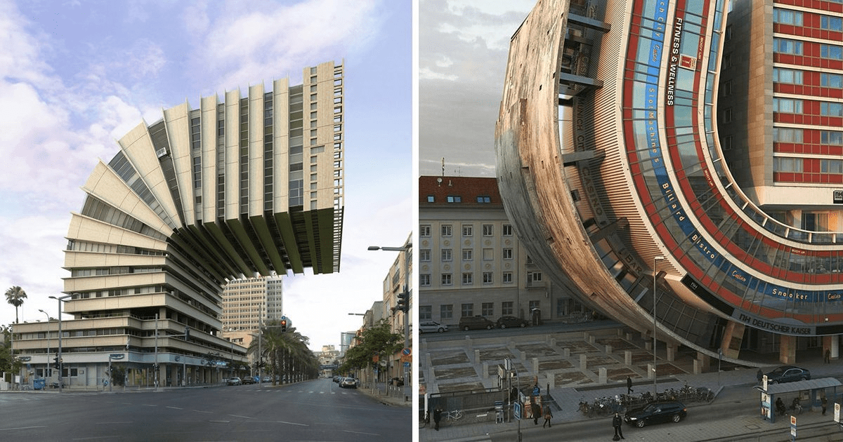 How architecture turns into art